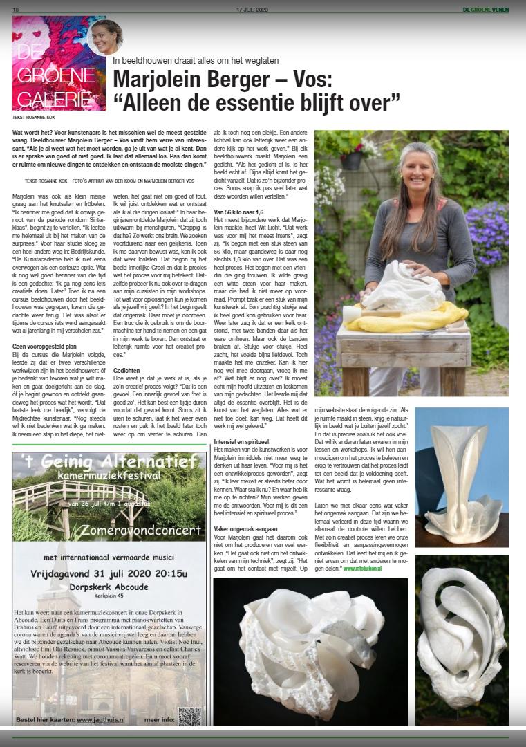 Interview De Groene Venen
